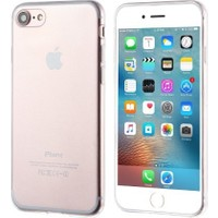İmpashop Apple iPhone 7 Plus Silikon Kılıf Ultra İnce 0.3Mm Kılıf