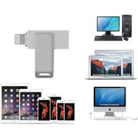 Microcase İdrive Apple iPhone iPad iPod İçin 16 Gb Usb Flash Disk Sürücü Yedekleme