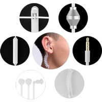 Microcase Anti Radyasyon Mono Hava Kanallı Kulakiçi Fbı Kulaklık