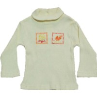 Shecco&Babba Kız Bebek Uzun Kollu T-Shirt Krem