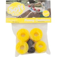 PENNY CUSHION SET 83A BRIGHT YELLOW PREV 87A