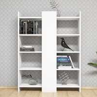Minar Secret Kitaplık Beyaz/Beyaz