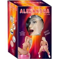 Alexandra 3 İşlevli Realistik Gerçek Şişme Bebek- Şişme Manken