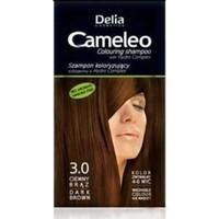 Delia Camelia Saç Renklendirici Şampuan Tek Kullanımlık 3.0 Dark Brown 40 ml