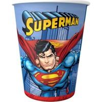 Kikajoy SUPERMAN KARTON BARDAK 8Lİ