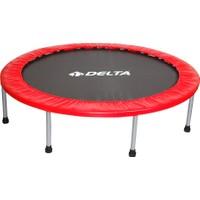 Delta 102 cm Deluxe Kırmızı Trampolin (40 inç Trambolin)