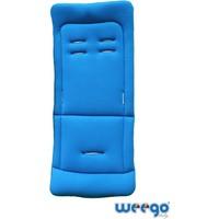 Weego Bebek Arabası Minderi Çift Yönlü Mavi/Siyah