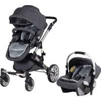 Prego 2070 Laon Travel Sistem Bebek Arabası - Siyah