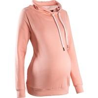 Bpc Bonprix Collection Turuncu Hamile Giyim Büyük Yaka Sweatshirt