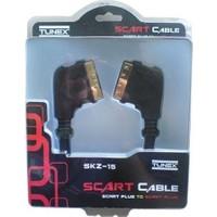 TUNEX Scart Kablo 2 Metre - A Kalite Blister