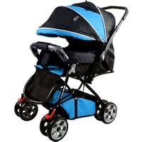Ünal Baby Baby Keeper Power Çift Yönlü Bebek Arabası / Mavi - Siyah