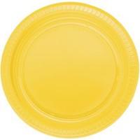 Kikajoy Plastik Tabak Sarı