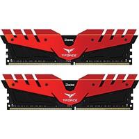 Team 8GB (2x4GB) 2666MHz DDR4 Overclocking Dark T-Force Gaming Soğutuculu Dual- Channel Ram Kit - 1.2V (TM4D266642RD)