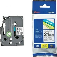 Brother P-Touch Tz-Tape 24Mm Gümüş-Siyah Etiket 24Tze-M951
