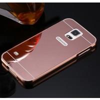 Gpack Samsung Galaxy S5 Kılıf Aynalı Metal Bumper