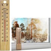 Homecare Ahşap Manuel Termometre 091782