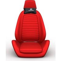 Simoni Racing VW Logolu Ortopedik Deri Boyun Boşluğna Yastık SMN103314