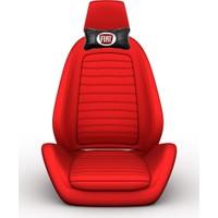 Simoni Racing Fiat Logolu Ortopedik Deri Boyun Boşluğna Yastık SMN103321