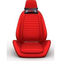 Simoni Racing Honda Logolu Ortopedik Deri Boyun Boşluğna Yastık SMN103335