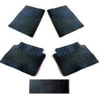 Modacar Siyah Su Kanallı Kauçuk 5 Parça Paspas Seti 381128