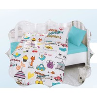 Cotton Box Baby Line Mutlu Bebek Beyaz Nevresim Takımı