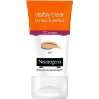 Neutrogena Visibly Clear Correct & Perfect CC Krem Açık Ton 50 Ml