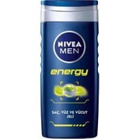 Nivea Nbc Duş Şampuanı Energy 250 Ml