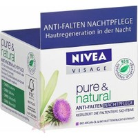 Nivea Vısage Pure&Natural Kırışık Karşıtı Gece Krem