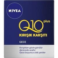Nivea Q10 Kırışık Karşıtı Gece Bakım Kremi 50Ml