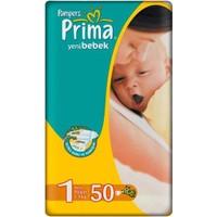 Prima Bebek Bezi Aktif Bebek Ekonomi Paket 1 Beden 50 Adet