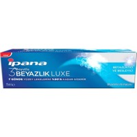 İpana 3 Boyutlu Beyazlık Luxe Diş Macunu Beyazlatıcı Besleyici 75 ml