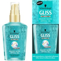Gliss Million Gloss Crystal Oil Mat Saçlar İçin Saç Bakım Yağı 75 Ml