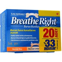 Breathe Right Burun Bandı Normal Boy 20 aDET