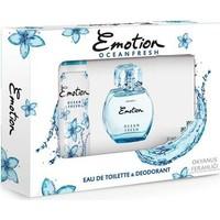Emotion Ocean Fresh Edt 50 Ml Kadın Parfüm + 150 Ml Deodorant Set