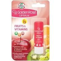 Golden Rose Lip Balm Fruits & Vitamins Spf 15