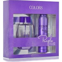 Rebul Colors Purple Paradise Edt 75 Ml Kadın + Deo