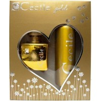 Cecile Gold 100Ml Kadın Parfüm + 150Ml Deodorant Parfüm Set