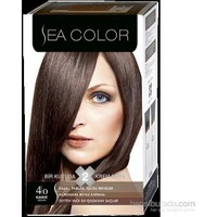 Sea Color 4/0 - Kahve Saç Boyası