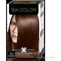 Sea Color 5/77 - Sıcak Çikolata Saç Boyası
