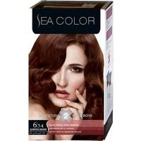 Sea Color 6/34 - Çarpıcı Bakır Saç Boyası