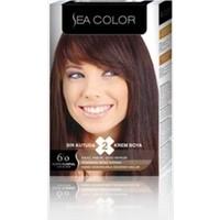 Sea Color 6/0 - Koyu Kumral Saç Boyası