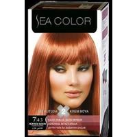 Sea Color 7/43 - Hürrem Bakırı Saç Boyası