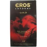 Eros Gold Halkalı (12'li) Prezervatif