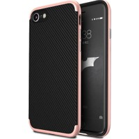 Case 4U Apple iPhone 6/6S Hybrid Korumalı İnce Arka Kapak Rose Gold
