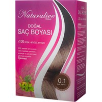 Naturalive Doğal Saç Boyası (Açık Kahve) 100 gr