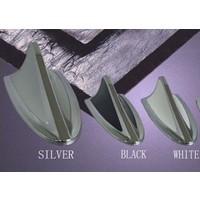 Tvet Anten Süs Balık Çift Renk Chrome Siyah