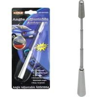 Tvet Tepe Anteni Alüminyum Ayarlı 23 Cm Silver