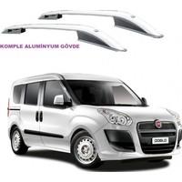 Tvet Fiat Doblo 2010 Üst Çıta Alüminyum Komple
