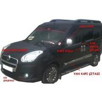 Tvet Fiat Doblo 2 2010 Cam Kenar Çıtası 4Prç P Çelik