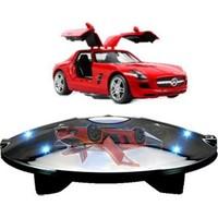 Acayipşeyler Sihirli Dünya Havada Dönen Platform 6 Ledli Işıklı - Self Rotating Levitron